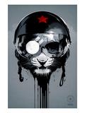 Eye of the Tiger Giclée-Premiumdruck von Hidden Moves