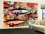 Miami Wall Mural – Large by Shark Toof