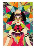 Star of Wander Giclée-Premiumdruck von Diela Maharanie