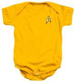 Infant: Star Trek- Command Uniform Infant Onesie