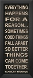 Everything Happens Posters by N. Harbick