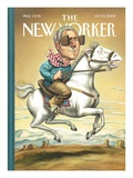 The New Yorker Cover - October 13, 2003 Giclee Print by Anita Kunz