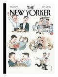 The New Yorker Cover - September 3, 2012 Reproduction procédé giclée par Barry Blitt