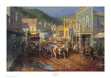 Gold Town Kunstdrucke von Andy Thomas