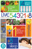 Live 54321+8 Poster Poster