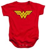 Infant: Wonder Women - Logo Grenouillère bébé