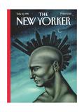 The New Yorker Cover - July 10, 1995 Giclée-Premiumdruck von Anita Kunz