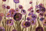 Pink and Purple Flowers Print by Silvia Vassileva