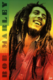 Bob Marley - Colors Poster