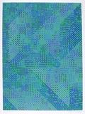 Blaue Stadt Limitierte Auflage von Tony Bechara