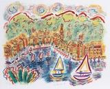 Portofino Stampa da collezione di Wayne Ensrud