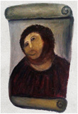 Ecce Homo Botched Restoration Póster