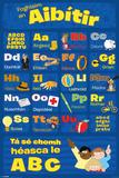 Learn The Alphabet-Irish Posters