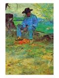 The Young Routy in Celeyran Láminas por Henri de Toulouse-Lautrec