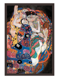 The Embrace Art by Gustav Klimt