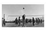 Volley Ball Game 高画質プリント : アンセル・アダムス