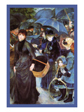 The Umbrellas Poster af Pierre-Auguste Renoir