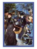 The Umbrellas Prints by Pierre-Auguste Renoir