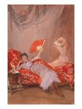 Milly Fitch Affiches van James Abbott McNeill Whistler