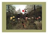 Virgin Forest Plakater av Henri Rousseau