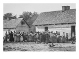 African American Slaves on a Plantation Kunst