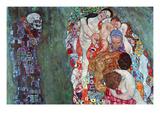 Death and Life Posters por Gustav Klimt