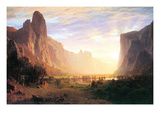 Yosemite Valley 3 Posters af Albert Bierstadt