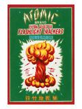 Atomic Brand Extra Selected Flashlight Crackers Plakater