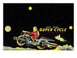 Space Patrol Super Cycle Prints