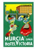 Murcia Hotel - Valencia Spain ポスター : ギャリー