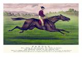 Parole: Brown Gelding, by Imp. Leamington, Dam Maiden by Lexington Prints by  Currier & Ives