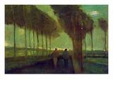 Country Lane Prints by Vincent van Gogh