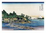 Enoshima in Sagami Province Kunstdrucke von Katsushika Hokusai
