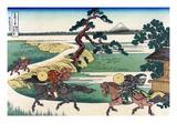 Village of Sekiya at Sumida River Prints by Katsushika Hokusai