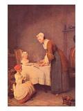 The Table Prayer Prints by Jean-Baptiste Simeon Chardin