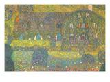 House in Attersee Giclée-Premiumdruck von Gustav Klimt
