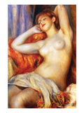 The Sleeping Print by Pierre-Auguste Renoir