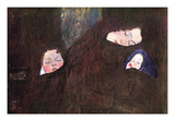 Mother with Children Giclée-Premiumdruck von Gustav Klimt