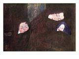 Mother with Children Prints by Gustav Klimt