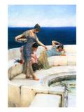 Silver Favorites Kunstdrucke von Sir Lawrence Alma-Tadema