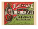 Blackhawk Ginger Ale Pósters