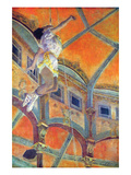 Miss Lala in Circus Fernando Posters av Edgar Degas