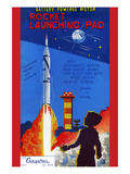 Rocket Launching Pad Posters