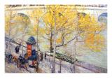 Pont Royal, Paris Art by Childe Hassam