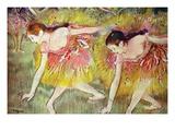 Ballettdansere Plakat av Edgar Degas