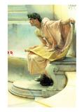 A Reading of Homer, Detail [2] Láminas por Sir Lawrence Alma-Tadema