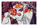 Still Life with Apples and Oranges Posters par Paul Cézanne