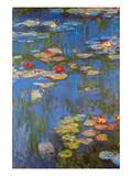 Water Lilies No. 3 Reproduction giclée Premium par Claude Monet