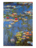 Water Lilies No. 3 Posters by Claude Monet