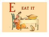 E Eat It Plakater av Kate Greenaway